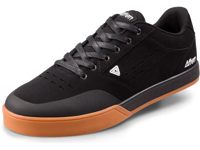 Afton Shoes Keegan Flatpedal Shoes Herre black/gum